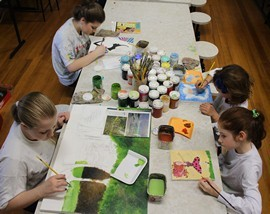 Aula de pintura