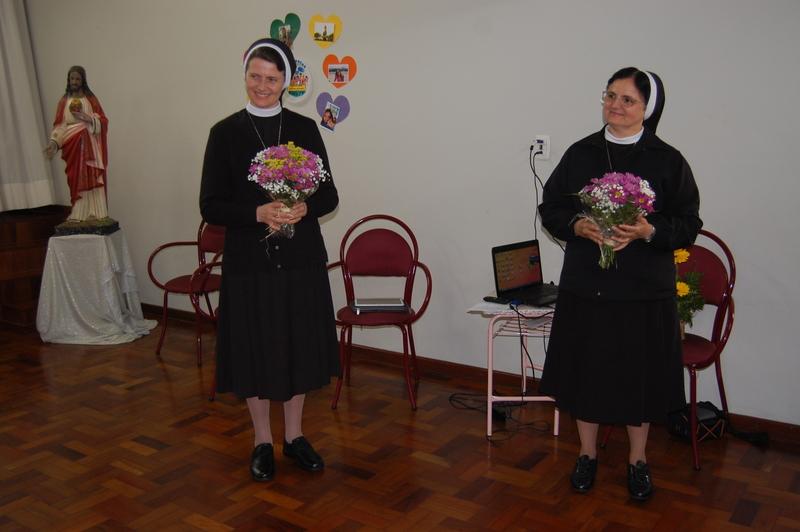 Visita da Madre Geral Miriam Cunha