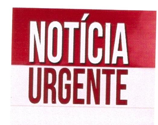 Notícia urgente!