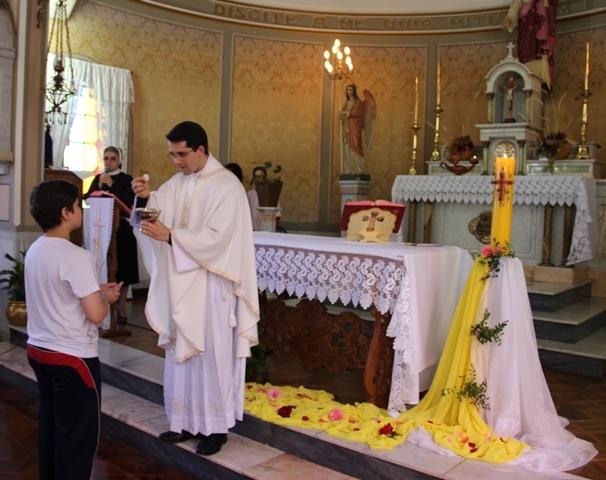 A Misericórdia de Deus expressada nos sacramentos