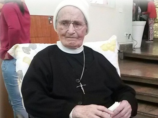 Obrigado Irmã Domingas, por sua vida e missão como Apóstola