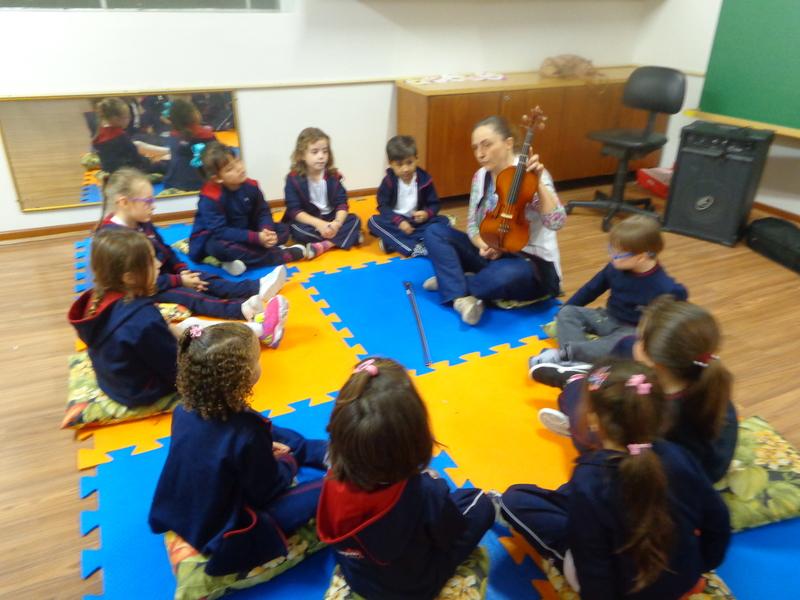 A Educação Infantil e o Violino