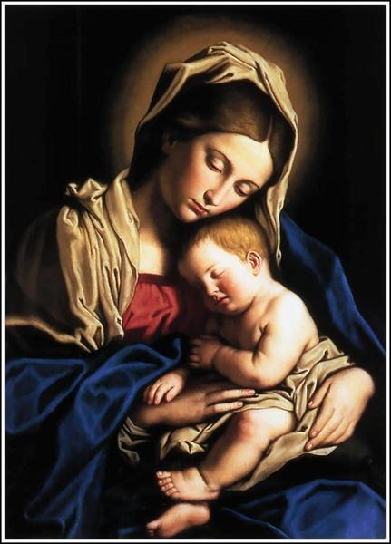 A Maternidade de Maria se torna herança e dom para toda a humanidade