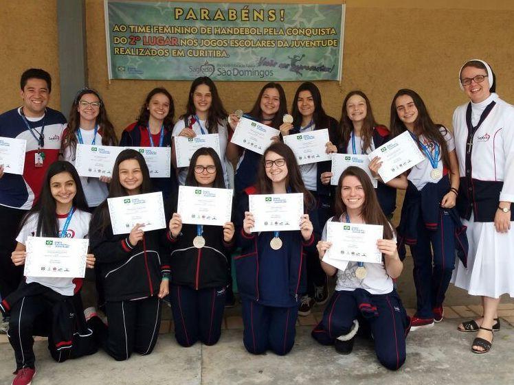 Unidade Educacional São Domingos é vice-campeã Nacional dos Jogos Escolares da Juventude