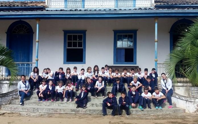 Aula de Campo dos 4º anos Em Castro