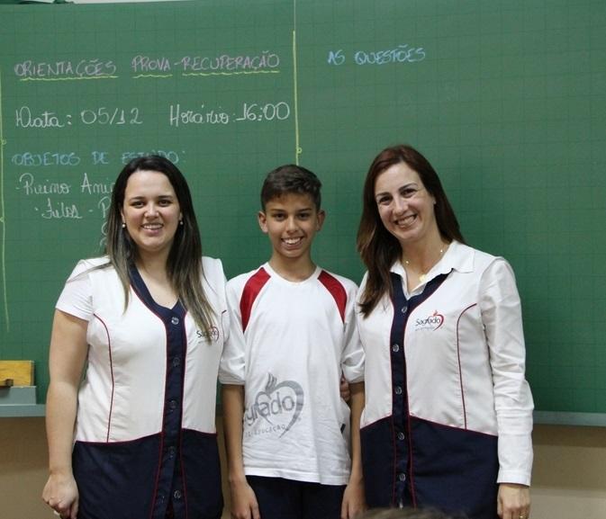 Educando do Colégio Imaculada é premiado na Olimpíada Brasileira de Matemática