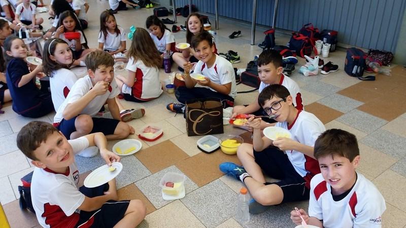 Educandos do terceiro ano concluem o Projeto Cultural: Primo Itália, dopo Brasile