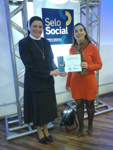 Unidade Educacional do SAGRADO - Rede de Educação recebe certificação do Programa Selo Social