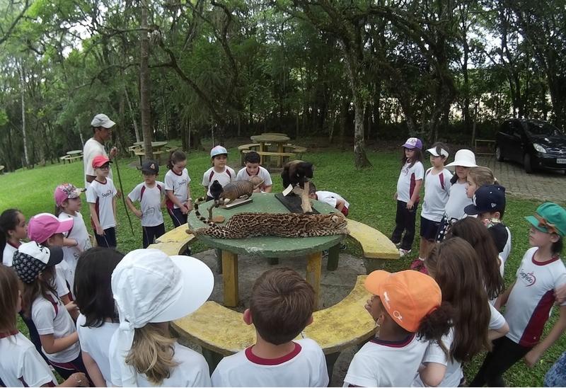 Turmas dos 2º anos participam de aula de campo no Recanto Sagrado - Sítio Pedagógico