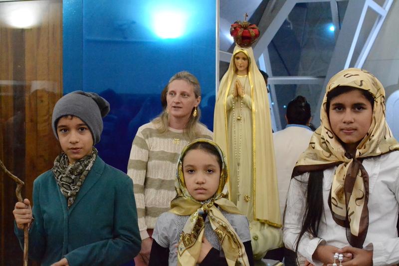 Missa em homenagem as mães é celebrada no dia dos 100 anos da Aparição em Fátima