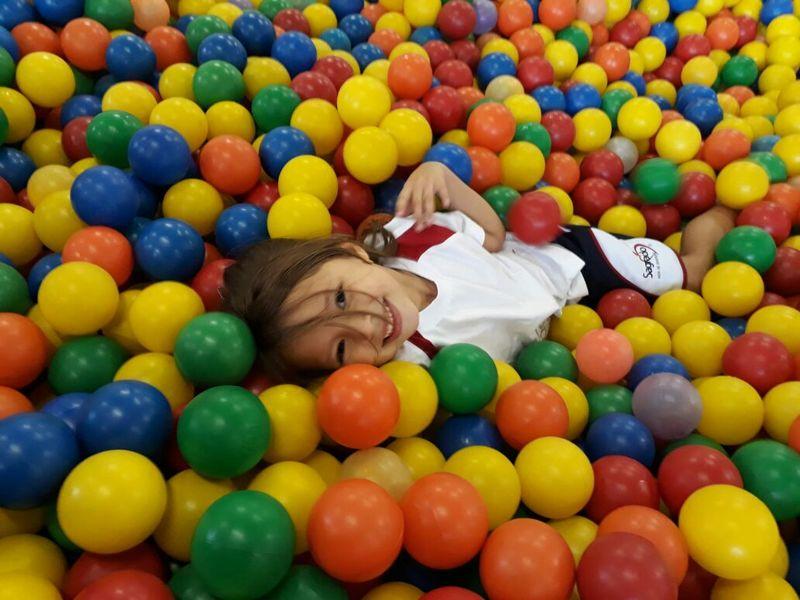A alegria está de volta! Primeiro dia da Educação Infantil no Colégio Sagrado
