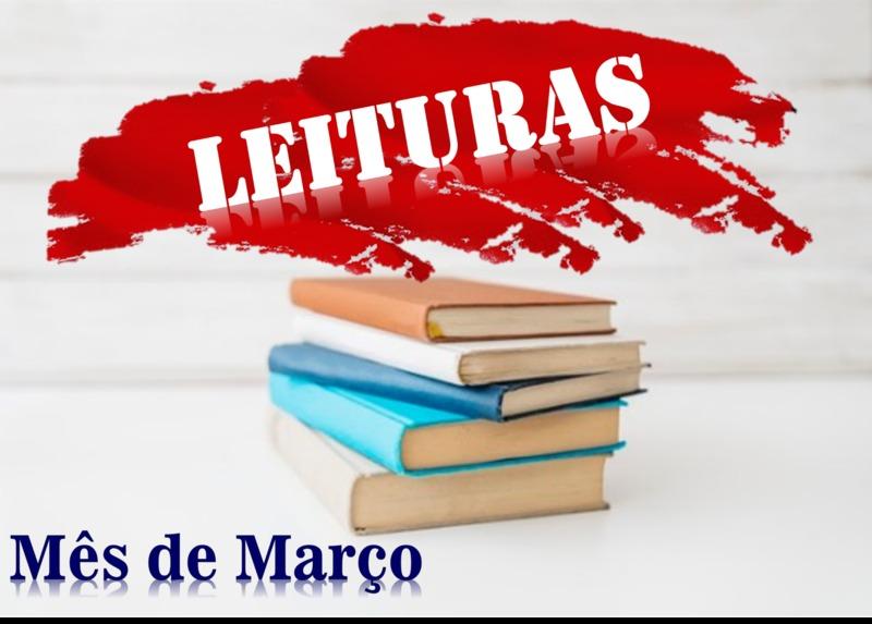 Sugestões de leitura para o mês de março