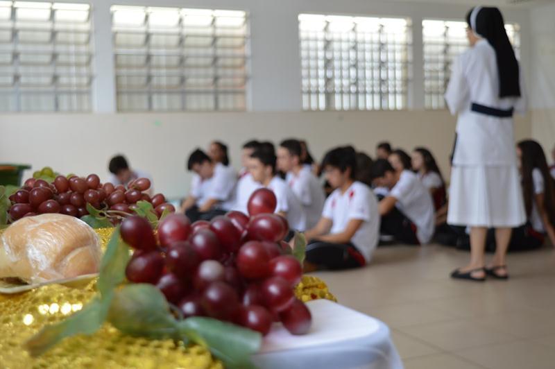 Celebração Pascal no Colégio Coração de Jesus