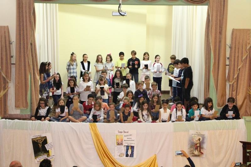 Via Sacra com as famílias do Colégio Imaculada