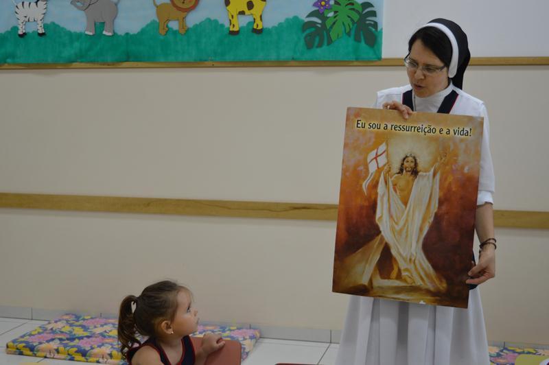 Páscoa: simplicidade e alegria características das crianças