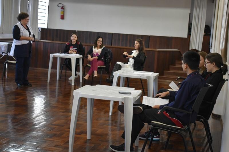 Educandos do Ensino Médio realizam Júri Simulado
