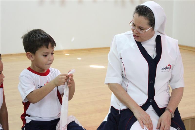 Infantil III e IV trabalham o valor da Confiança