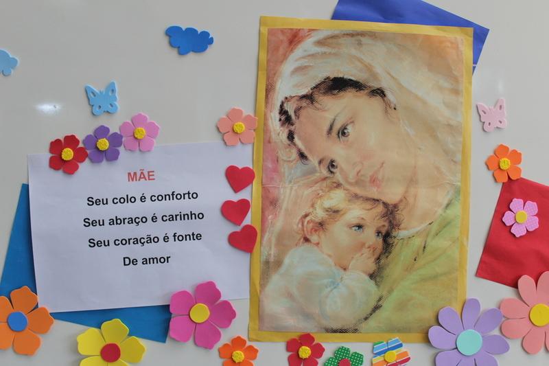 Mãe, ternura e paz