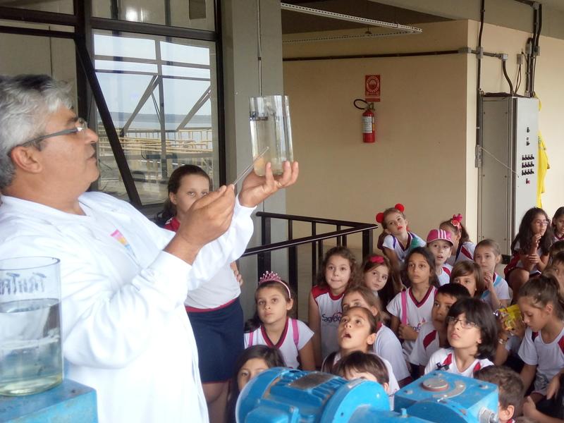 Visitação à Estação de Tratamento de Água de Torres