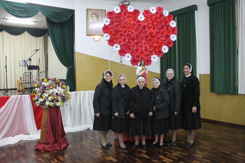 Missa solene em honra ao Sagrado Coração de Jesus