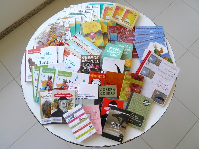 Serviço de Biblioteca Escolar disponibiliza obras literárias para os trabalhos trimestrais