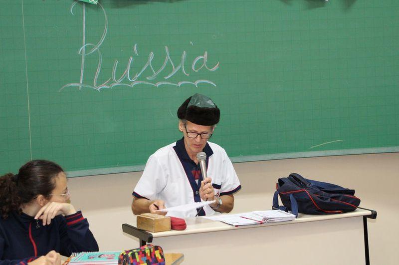 Educandos dos 9º anos vivem uma aventura russa