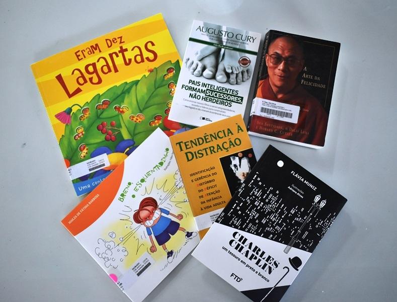 Sugestões de leitura da Biblioteca - Julho