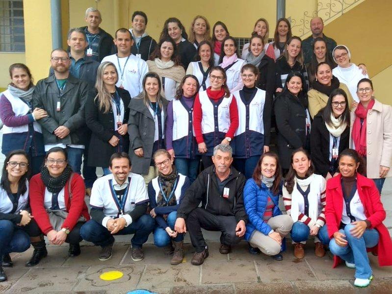 Educadores da Unidade Educacional Escola São Domingos participam da Jornada Pedagógica 2018/2