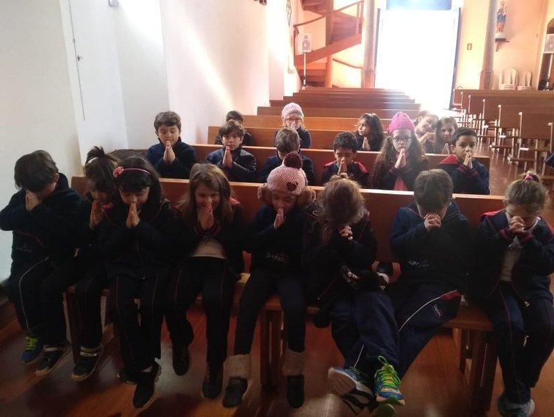 Educandos visitam a Igreja Matriz São Domingos