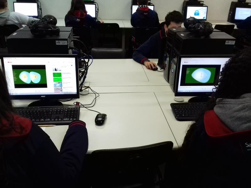 Avaliações do componente curricular de Ciências no aplicativo Forms