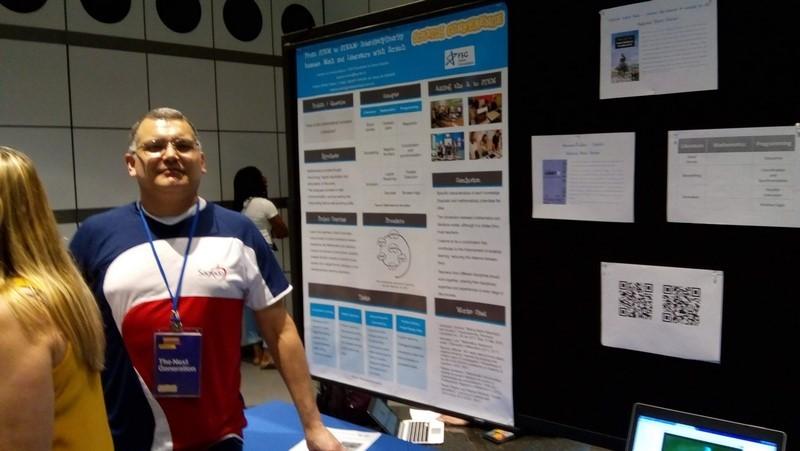 Educador apresenta projeto no Scracth Conference na cidade de Cambridge - EUA