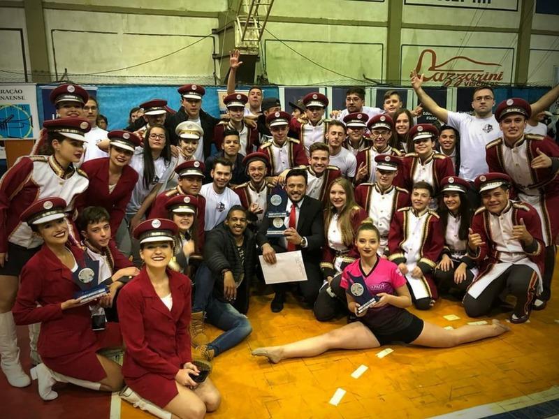 Banda SAGRADO conquista 1º lugar no XXVIII CINFABAN