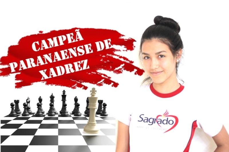 1º lugar no Campeonato Paranaense de Xadrez Escolar é do SAGRADO
