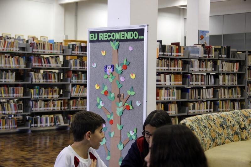 Com ação interativa, Colégio Sagrado Coração de Jesus, em Curitiba, promove a leitura e o gosto pela literatura entre os educandos