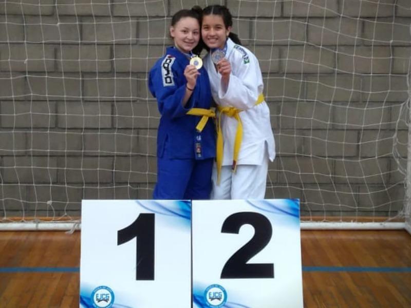 SAGRADO PG conquista 1º e 2º lugar no Judô feminino
