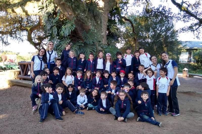 Educandos  no Quinta da Estância