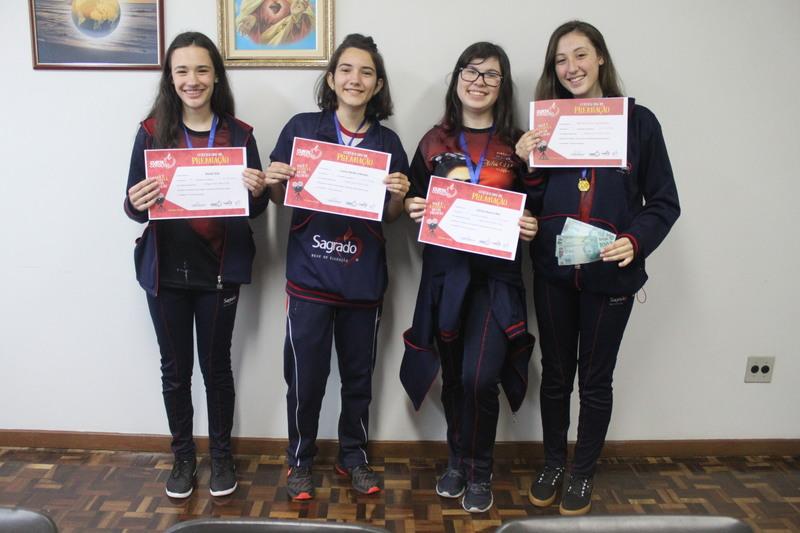 Colégio Social Madre Clélia participa de projeto de curtas e equipe se sagra campeã