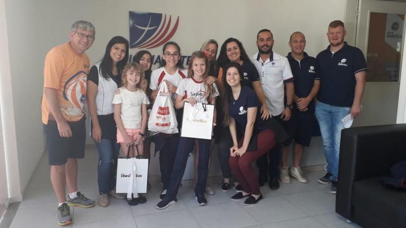 Educandos da Unidade Educacional Escola São Domingos participaram de uma programação especial na Rádio Maristela