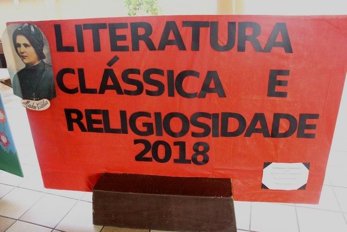 Semana Literária: Literatura Clássica e Religiosidade