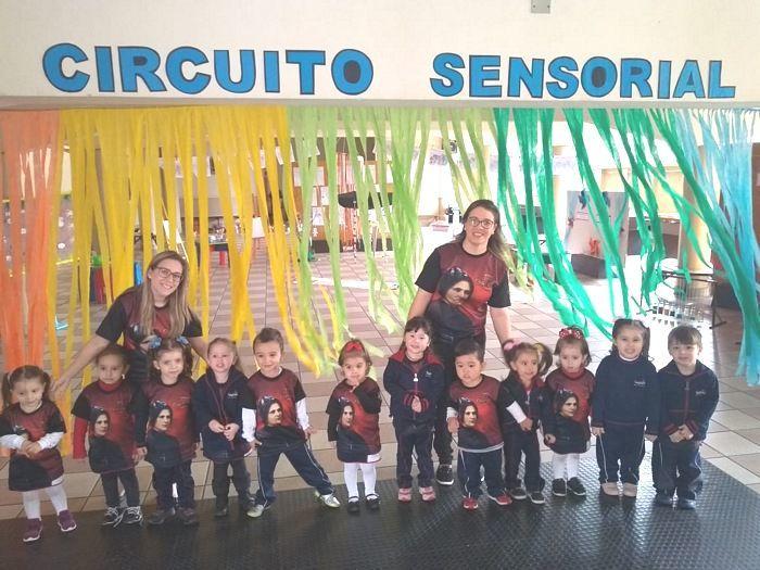 Descobrindo as Sensações e Circuito Sensorial no Infantil II