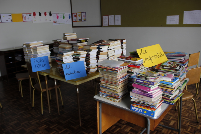 Semana Literária: cerca de 400 livros são arrecadados para doação à Vila Sabará