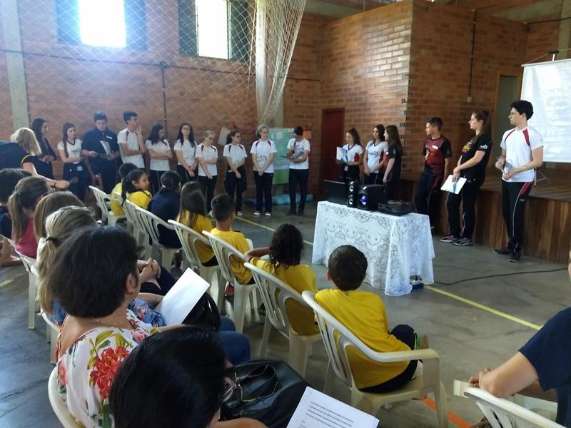 Educandos Participam da 1ª conferência Municipal dos direitos da Criança e do Adolescente