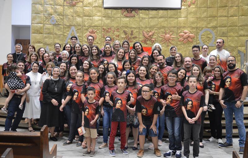 Nova Esperança em festa pela Beatificação de Clélia Merloni