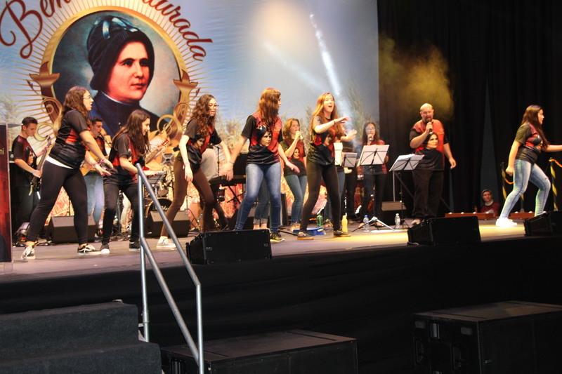 Banda Coração abre evento provincial da Beatificação de Madre Clélia