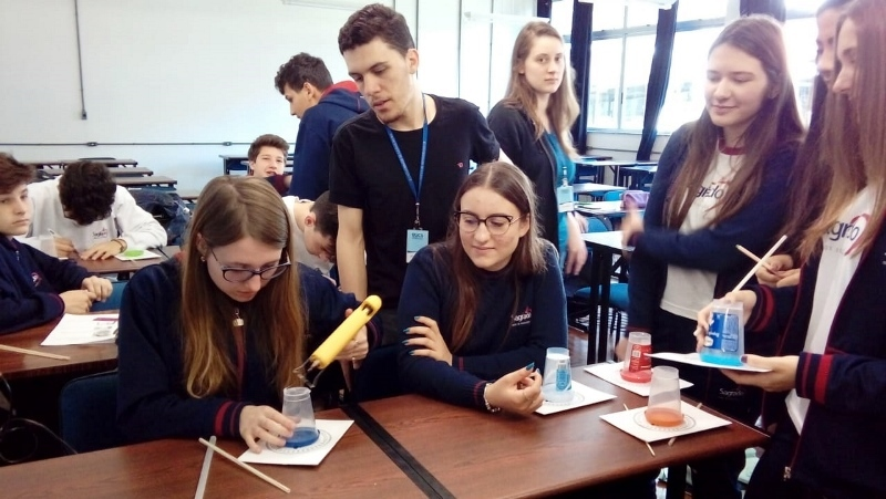 Educandos do 9° ano participam de Oficina sobre Trigonometria
