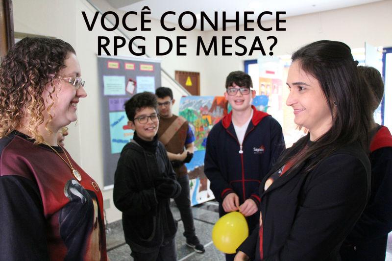 Você conhece RPG de mesa?