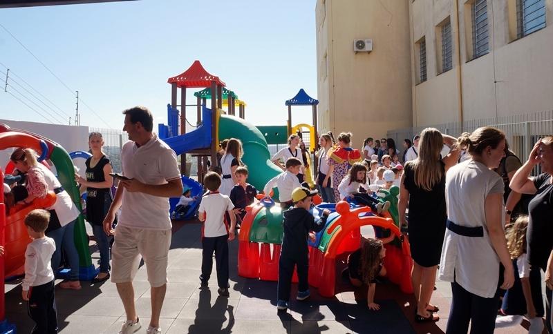 Inauguração do Parque Infantil