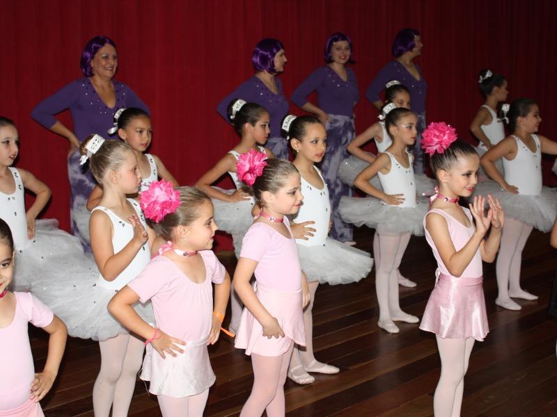 Ritmo e arte – Apresentação do Ballet e Ginástica Rítmica