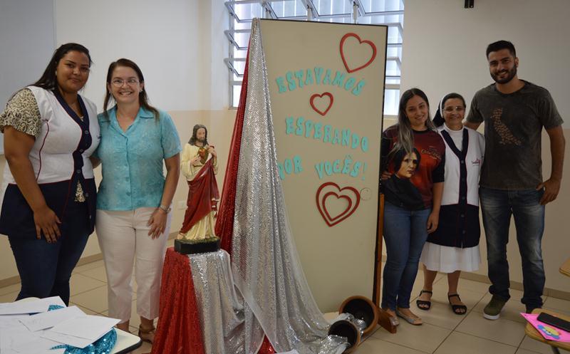 Educadores retomam suas atividades no Colégio Coração