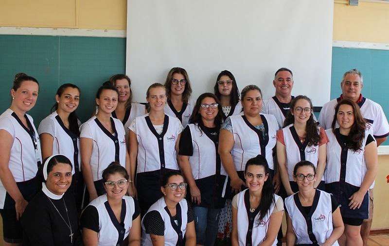 Unidade Educacional Escola São Domingos realiza imersão com os novos educadores